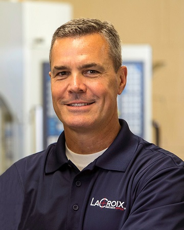 Kirk Warden has been promoted to President of LaCroix Precision Optics